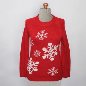 Sweaters - 🎀 3/$30 N.W.D Red White Knit Christmas Sweater